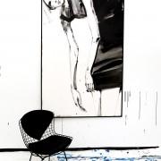 Katja Foos, Kirsten, 2015, 120x 190 cm - Offenburg Kunst Galerie