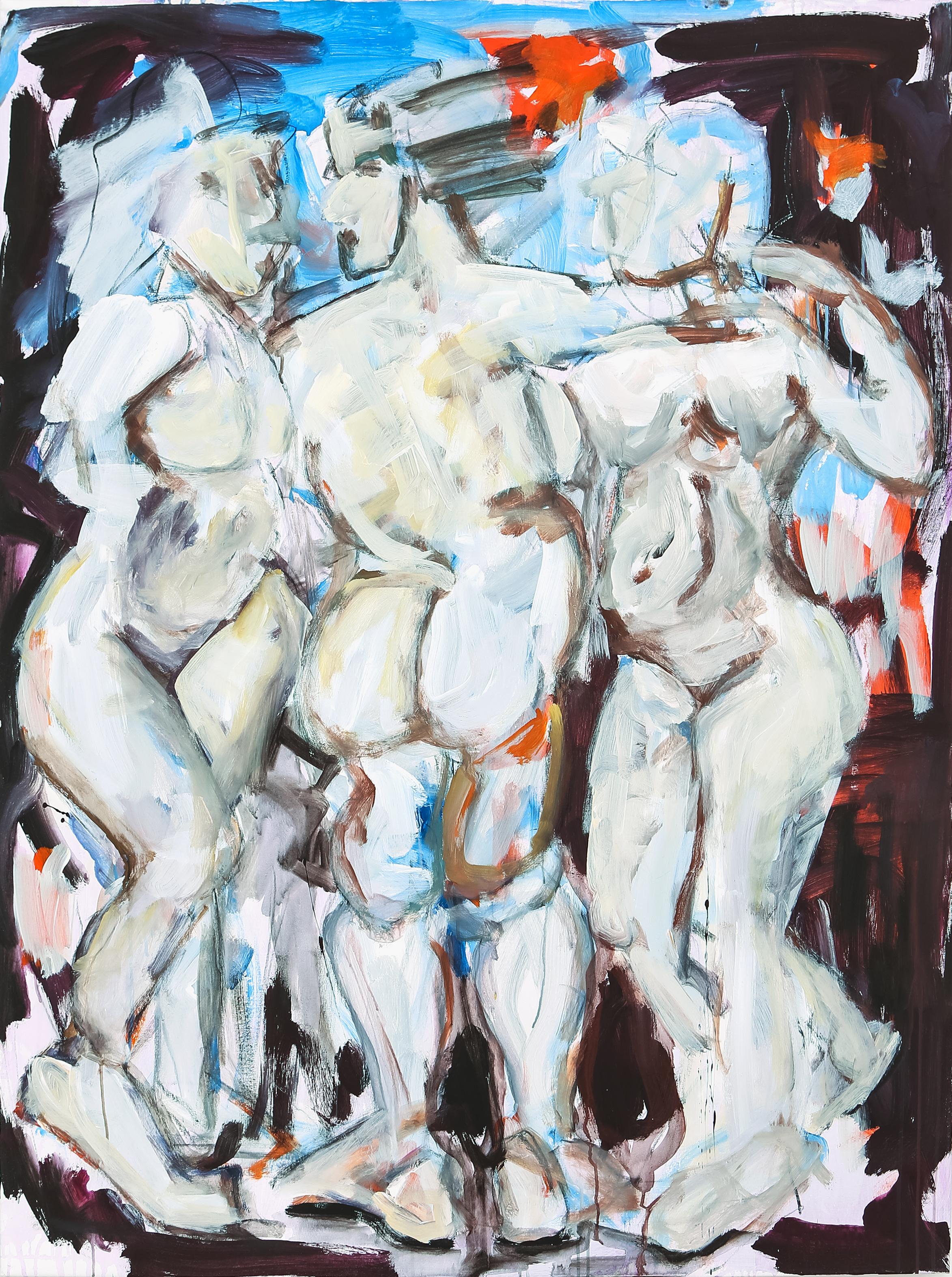 SK003_01_DieDreiLustigen120x160 - Offenburg Kunst Galerie