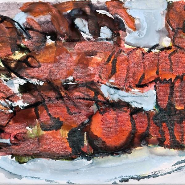 SK011_01_Lobster40x30 - Offenburg Kunst Galerie