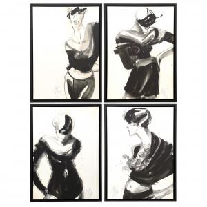 Katja Foos, Barça Series #01/02/03/04 - Offenburg Kunst Galerie