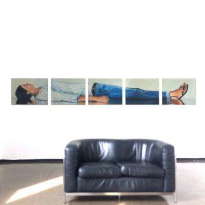 MARTIN SANDER, Menschenbilder,Sylvie - Kunst Galerie in Offenburg