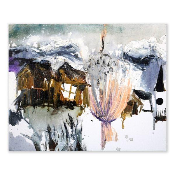 Stephanie_Abben_LG510_SnowfieldSmall_40x50_2016_Libbsclas Gallery, Offenburg, Kunstgalerie, Ortenau