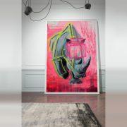 LG_KF050_185x260_ReadyRhinoOne, Libbsclas Gallery, Offenburg, Kunstgalerie, Ortenau