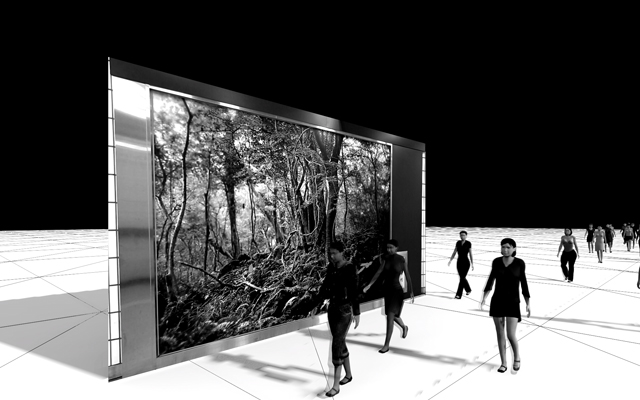 »Edge of Now« im Rahmen des Three Rooms Project